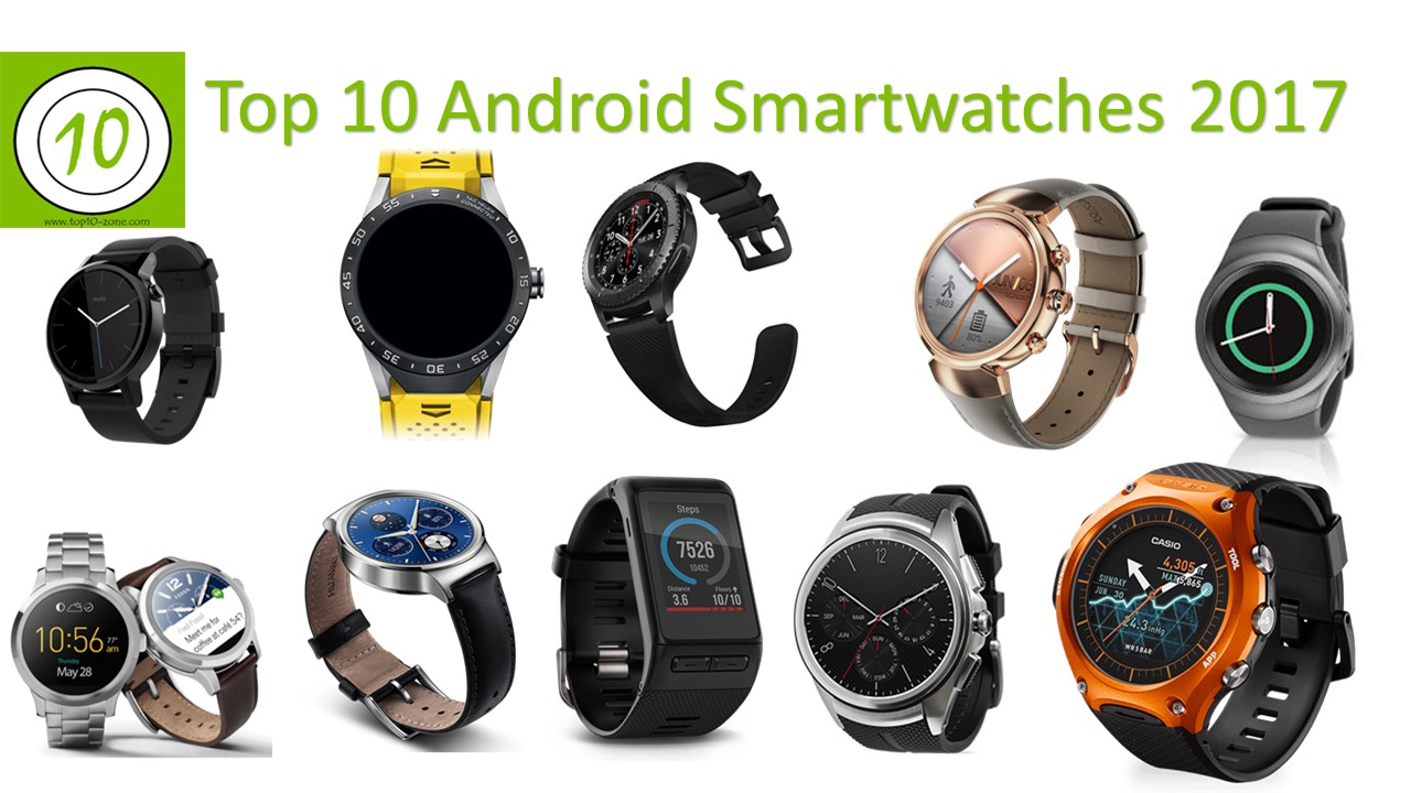 Top 10 Android Smartwatches- Best Picks for 2017