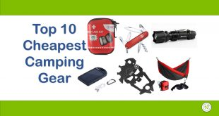 cheapest camping gears
