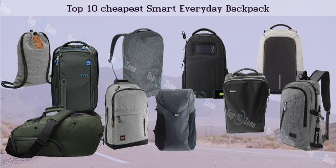 Top 10 Cheapest Smart Everyday Backpack