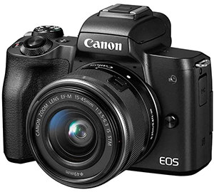 Canon EOS M50 travel camera
